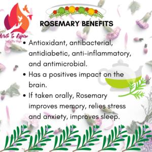 Medicinal Benefits of Rosemary