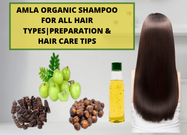 Amla organic shampoo for all hair types- write to Aspire