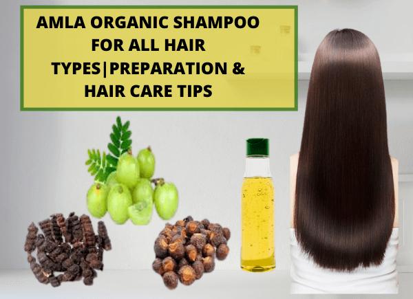 Amla organic shampoo for all hair types- write to Aspire