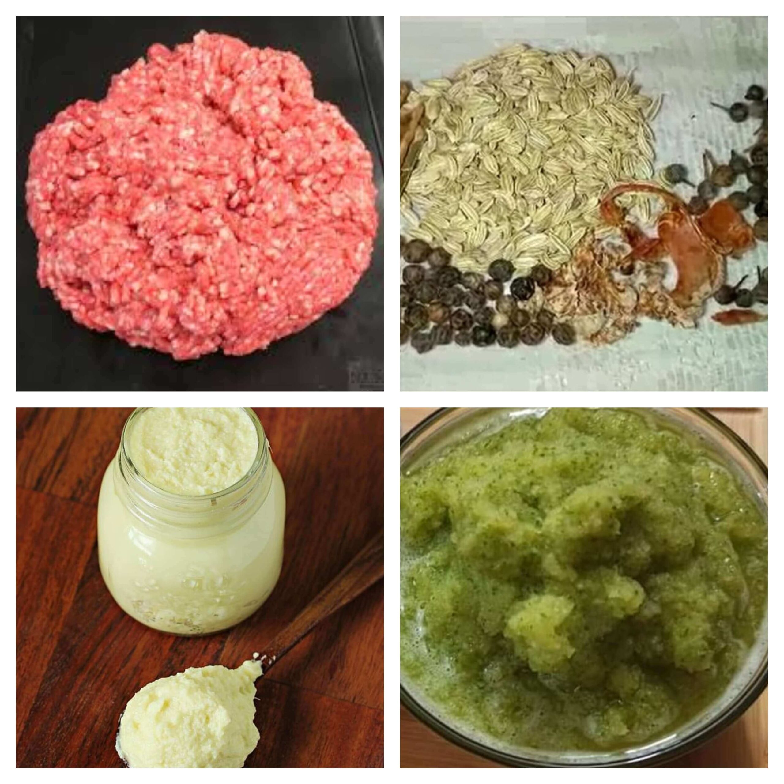 Muthi kebab ingredients- write to aspire