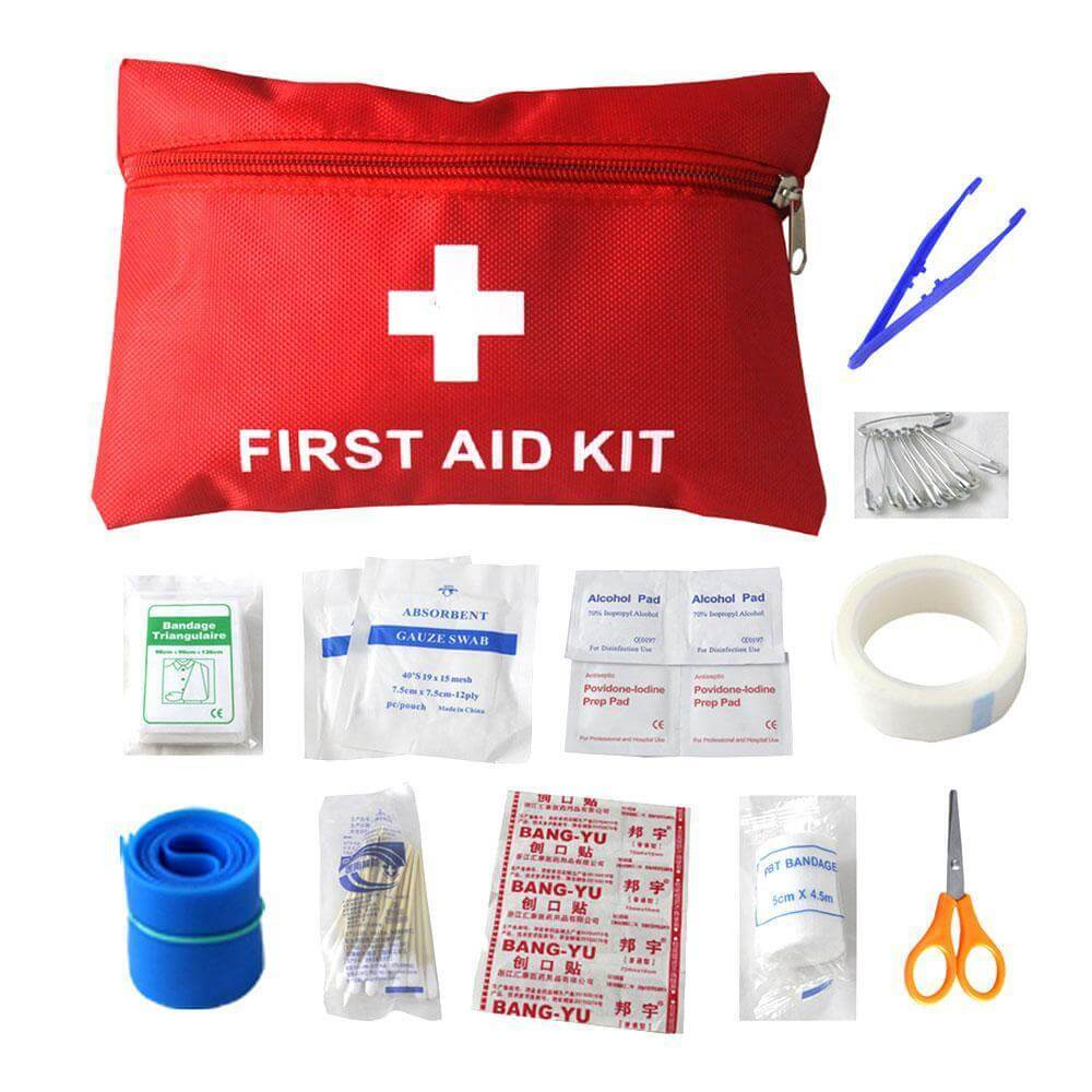 First Aid Kit in Hiking - write to aspire