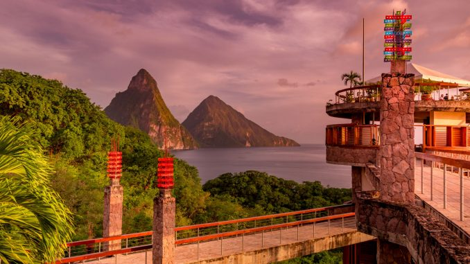 Jade mountain resort St. Lucia/ writetoaspire