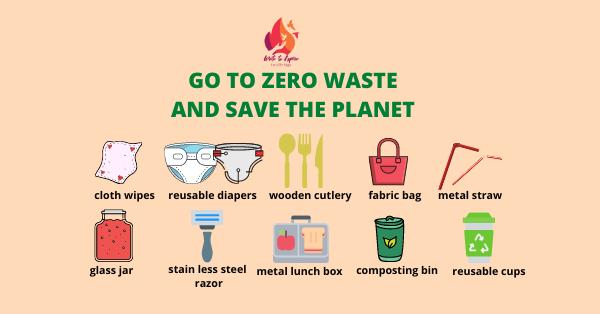 zero waste lifestyle-write to aspire