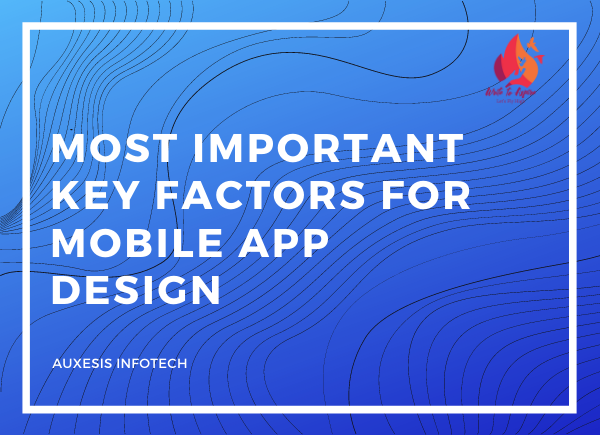Key factor in mobile app design- write to aspire