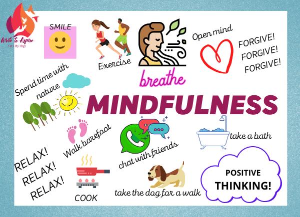 teaching mindfulness to teens-write to aspire