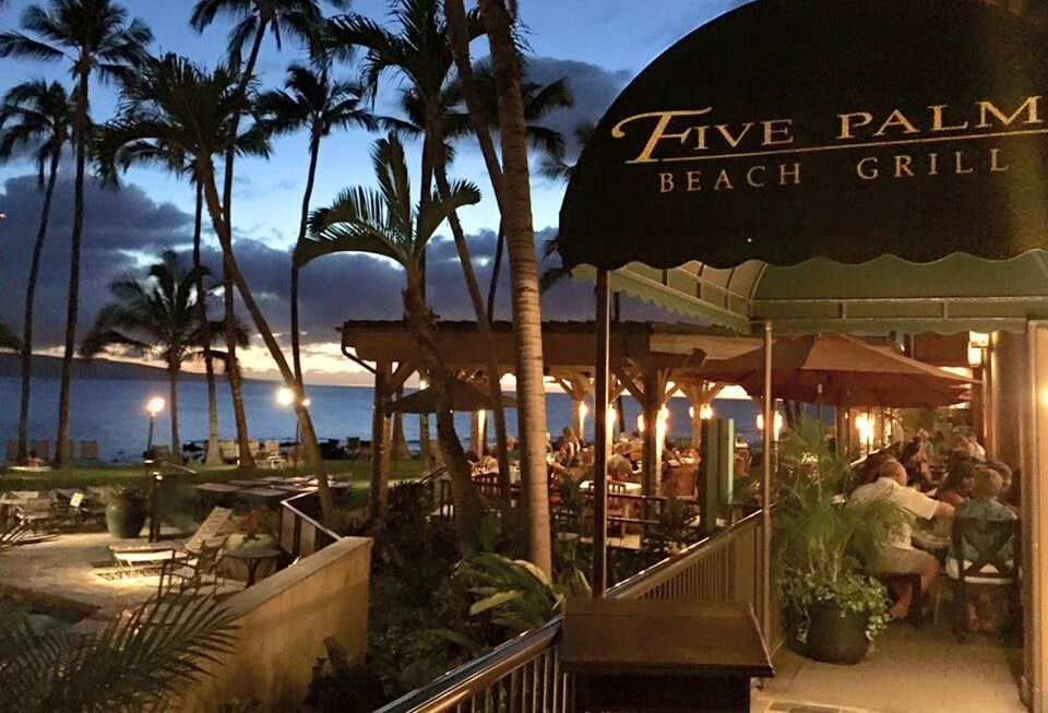 five palm entrance- top tourist attractions in Maui - write to aspire