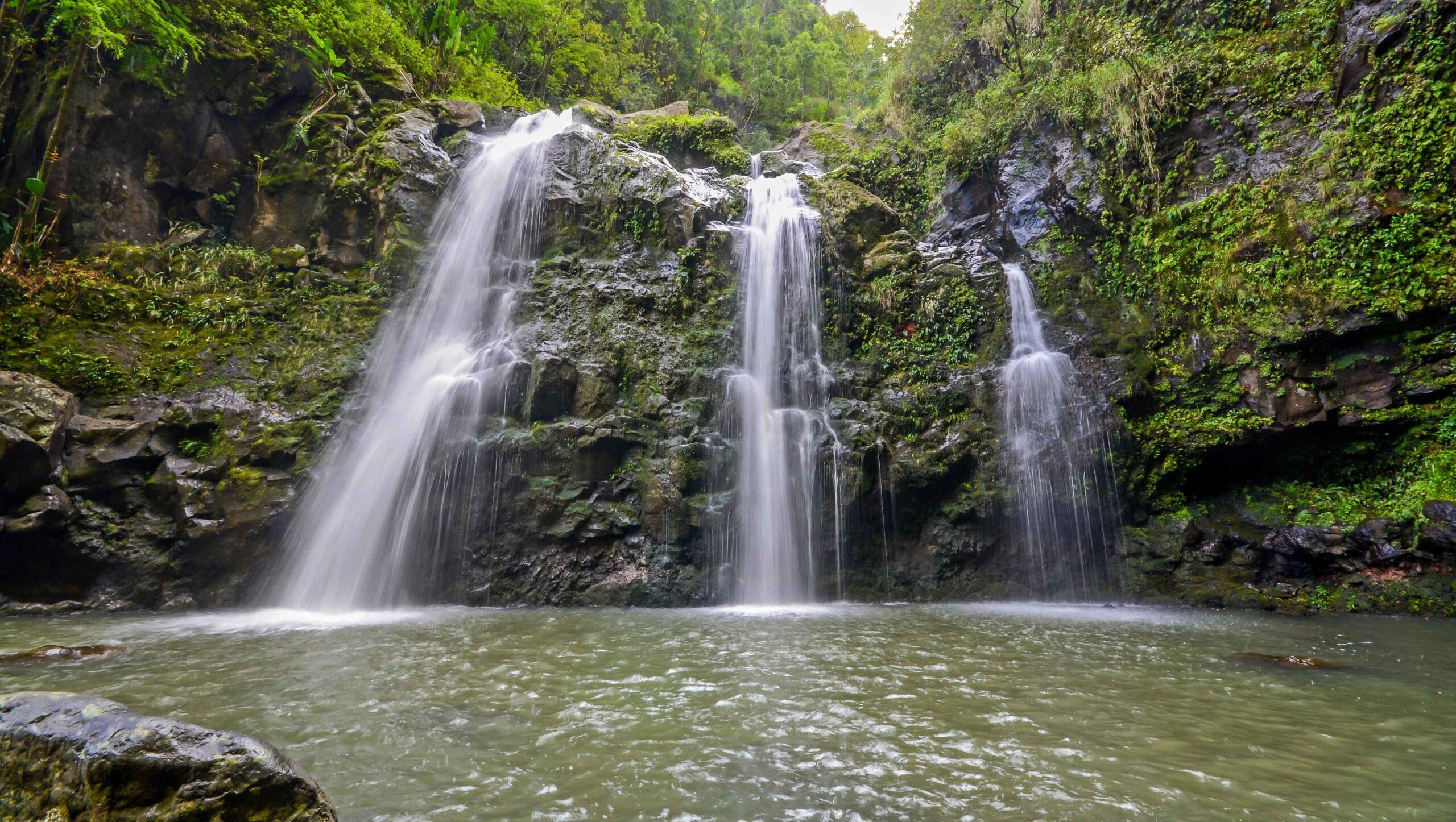 Upper Waikani Falls- write to aspire