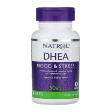 Natrol DHEA supplement for stress and hormones imbalance - write to aspire