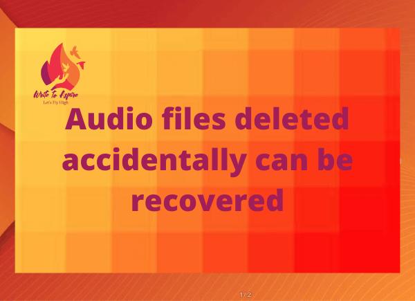 audio recovery app-write to aspire
