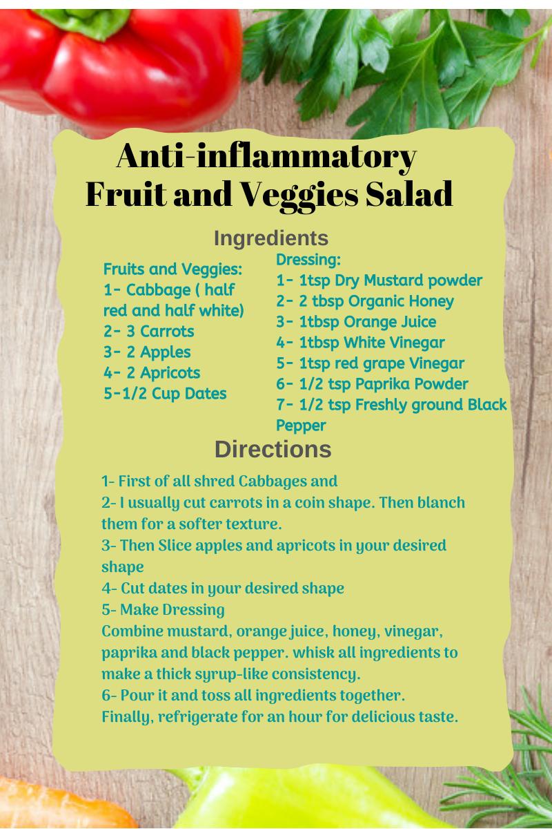 anti-inflammatory salad of fruit and fiber-write to aspire